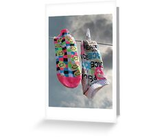 On the Line Greeting Card
