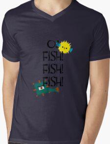 Oi! Fish! Fish! Fish! Mens V-Neck T-Shirt