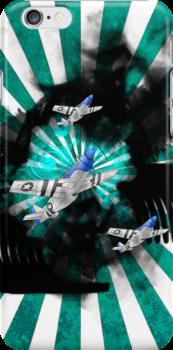 P-51 Iphone_7 by autobotchari