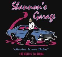 Shannon's Garage by ninjaink