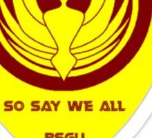 BSG United Pyramid Club Sticker
