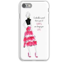 Cinderella shoes iPhone Case/Skin