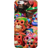 Dia de los Muertos, Day of the Dead Skulls iPhone Case/Skin