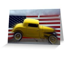 Yellow Truck Greeting Card