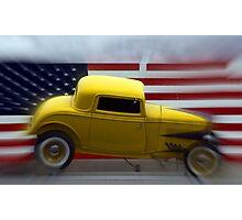 Yellow Truck Photographic Print