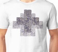 Meditation in blue Unisex T-Shirt
