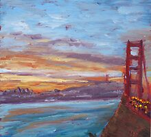 San Francisco Sunrise by Lester Ancheta