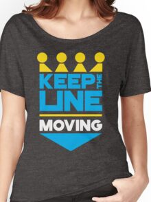 KC Royals: Keep the Line Moving Women's Relaxed Fit T-Shirt
