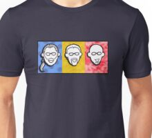 Davenport Johnson 3-color FACES design Unisex T-Shirt