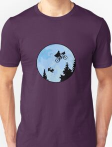 E.T. The Extraterrestrial Falling T-Shirt