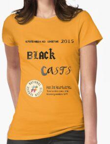 Blackcast tshirt NCS 2k15  Womens Fitted T-Shirt