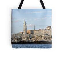 El Morro lighthouse, Havana, Cuba Tote Bag