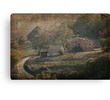 Tuscan Villa Vista Canvas Print