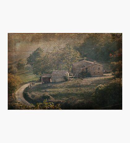 Tuscan Villa Vista Photographic Print