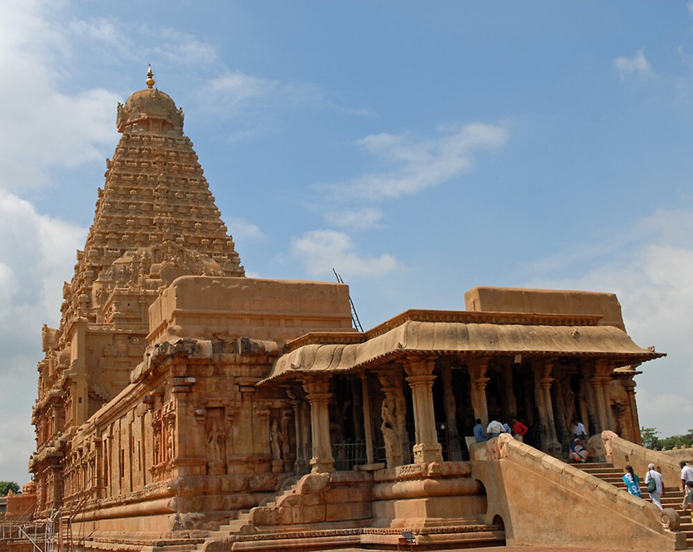 Hindue Temple by Thasan