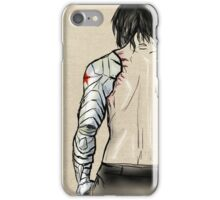 Bucky's Back.  iPhone Case/Skin