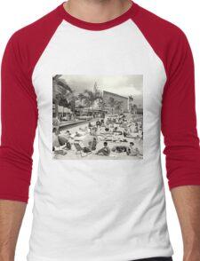 La Verne Beach - 1958 Men's Baseball ¾ T-Shirt