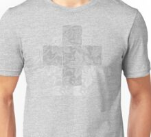 Meditation in grey Unisex T-Shirt