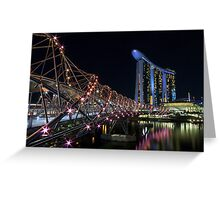 Helix Bridge Greeting Card