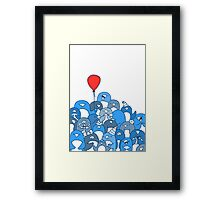 Penguin Party Framed Print