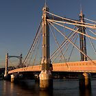 Albert Bridge London by DavidHornchurch