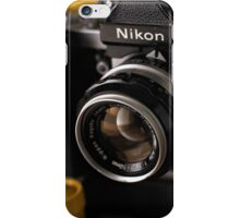 Nikon F2 iPhone Case/Skin