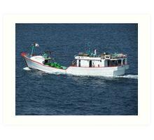 Fishing Trawler Art Print