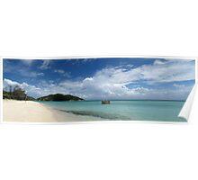 Beach at Lizard Island Poster