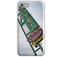 Vintage Motel Sign iPhone Case/Skin
