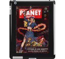 Woman vs. Alien iPad Case/Skin