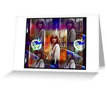stratosphere girl Greeting Card