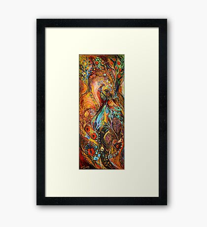 Four elements: Earth - Part 3 (from 4) Framed Print