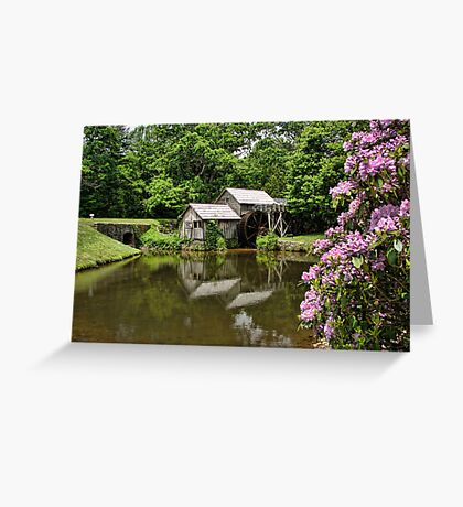 Iconic Mabry's Mill Greeting Card