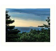 Blue Ridge Parkway View Art Print