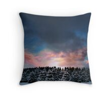 And His Light Shines Throw Pillow