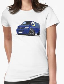 VW T5 Transporter Van Indian Blue T-Shirt