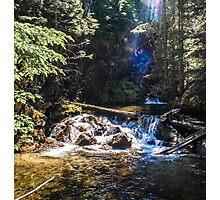 Upper Falls of North Fork Granite Creek Photographic Print