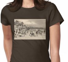 La Verne Beach Womens Fitted T-Shirt