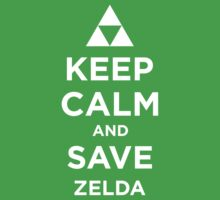 Keep Calm and Save Zelda T-Shirt