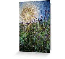 Lavender in Motion Greeting Card
