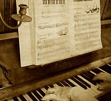 Tickling the ivories by Janette Anderson