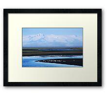 Iceland, Vatnajokull glacier landscape Framed Print