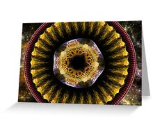 Flower From Planet X Greeting Card