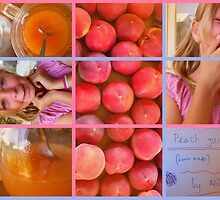Peach Juice  (home made) by Abbey.J by LouJay