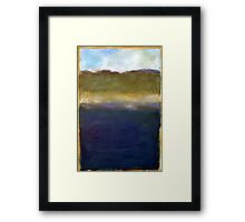 Abstract Dunes Framed Print