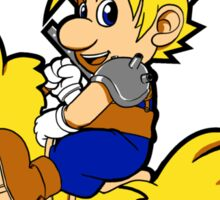 Super Cloud Bros. Sticker