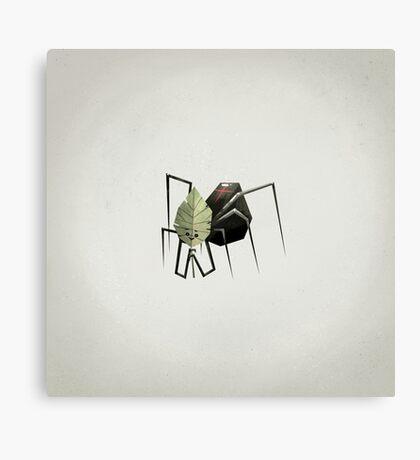 The Non-Menacing Spider Canvas Print