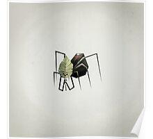 The Non-Menacing Spider Poster