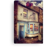 The Shake Shop Canvas Print
