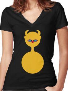 LSD: Dream Emulator Women's Fitted V-Neck T-Shirt